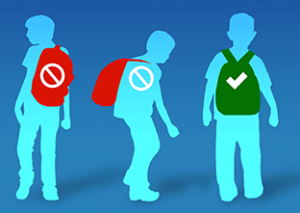 backpack safety to avoid back pain